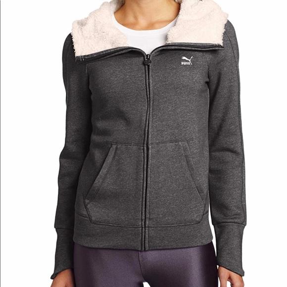 394eb4da5ba179 Puma Jackets & Coats   New Womens Mls Seasonal Black Fleece   Poshmark
